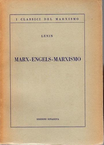 Marx Engels Marxismo